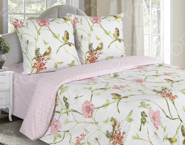 Комплект постельного белья Ecotex «Поэтика. Райский сад»