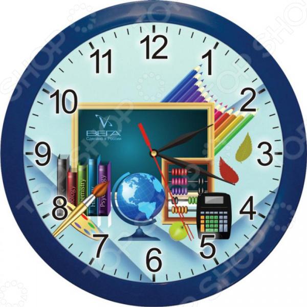 Часы настенные Вега П 1-10/7-172 «Школа. Карандаши»