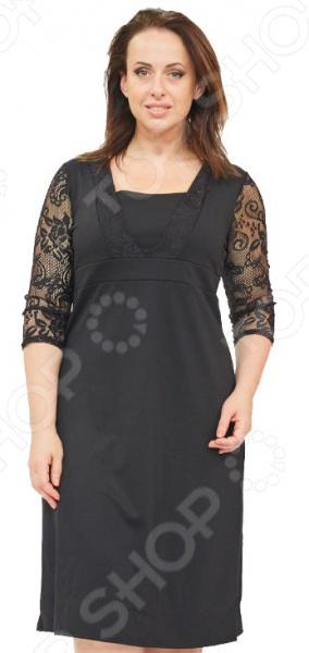 Платье Матекс «Великолепная особа». Цвет: черный