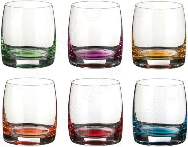 Набор стаканов Crystalite «Идеал Декорейшн» 669-037
