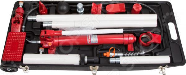 Набор гидравлического инструмента для кузовного ремонта Зубр «Эксперт» 43035-10 набор инструмента в пластмассовом кейсе 26 шт fit it 65125
