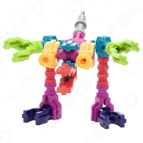 Конструктор развивающий Jawbones «Динозавр» jawbones конструктор велосипед jawbones в блистере 13 деталей