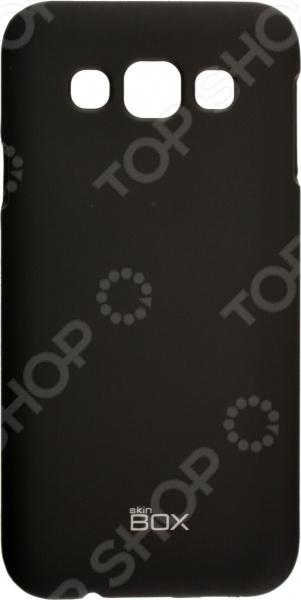 Чехол защитный skinBOX Samsung Galaxy E5 чехлы для телефонов skinbox samsung galaxy e5 skinbox shield 4people