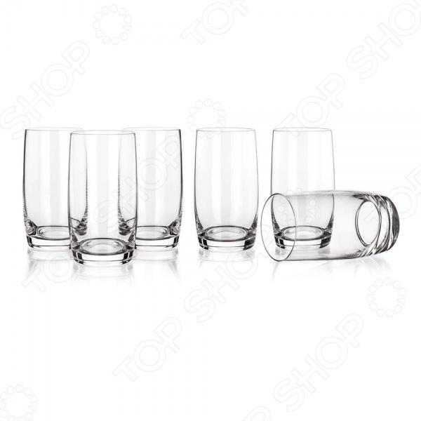 Набор стаканов Banquet Crystal Leona 02B2G006380 набор стаканов для напитков salt