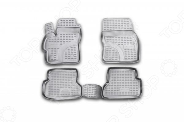 Комплект ковриков в салон автомобиля Novline Autofamily Mazda 3 2003-2009