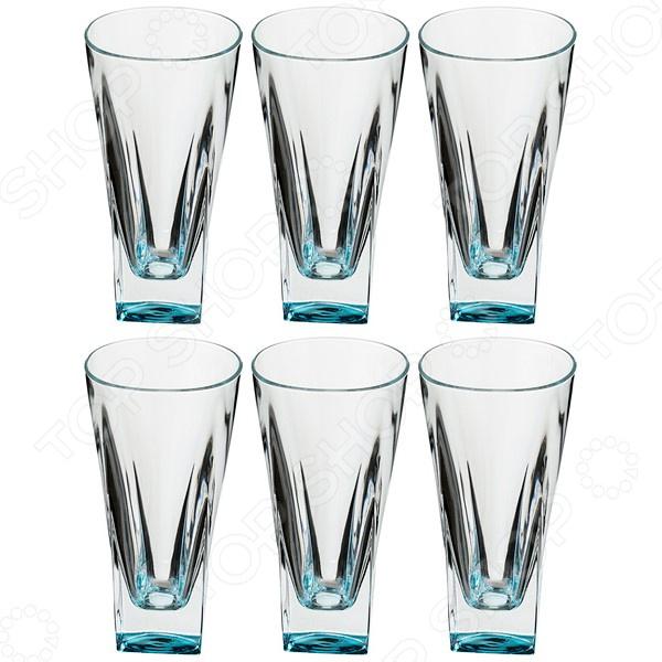 Набор стаканов RCR «Фьюжн Курасао» набор стаканов rcr опера
