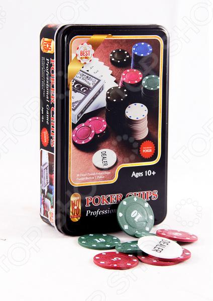 Набор игровой подарочный Покер 42446 комплект для азартных игроков. Наверняка придутся по вкусу любителям карточных игр, типа Покера, Билот и других. Колоду можно брать с собой в дорогу или играть дома с друзьями. Изображения яркие и красочные, классического типа. В набор входят колоды карт и фишки для покера. Рекомендуется регулярно удалять пыль сухой, мягкой тканью; а также беречь от влаги.