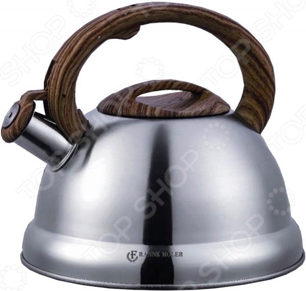 Чайник со свистком Frank Moller FM-550 чайник frank moller fm 557