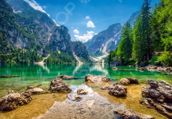 Пазл 1000 элементов Castorland «Озеро в горах»