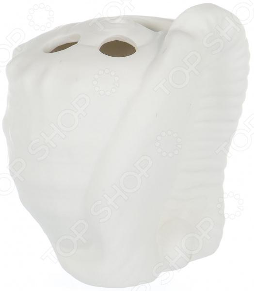 Подставка для зубных щеток Elrington ZM-1310347-03 umbra подставка для зубных щеток touch белая m opj nbr
