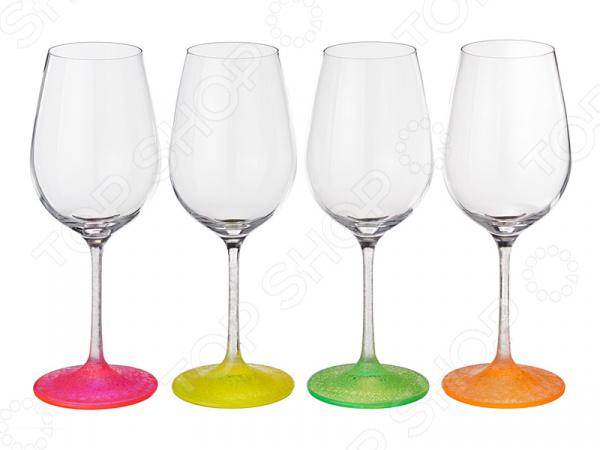 Набор бокалов Bohemia Crystal Neon Frozen набор бокалов для бренди коралл 40600 q8105 400 анжела