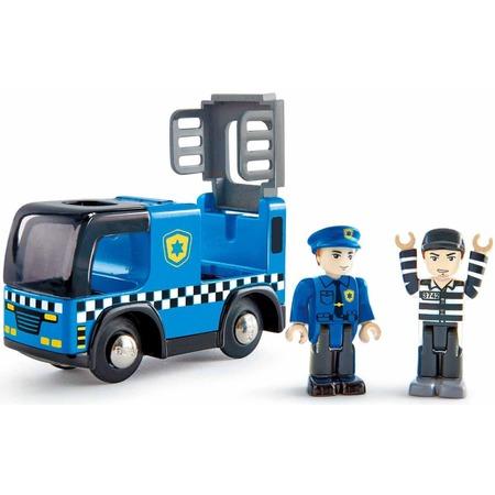 Купить Машинка игровая Hape «Полицейская машина с сиреной»