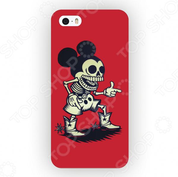 Чехол для iPhone 5 Mitya Veselkov «Зомбо Микки»