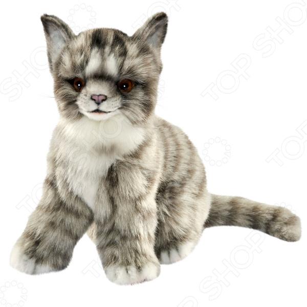 Мягкая игрушка Hansa «Котенок серый» мягкие игрушки plants vs zombies котенок 15 см