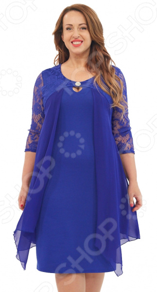 Платье Матекс «Милослава». Цвет: васильковый туника матекс донна цвет васильковый