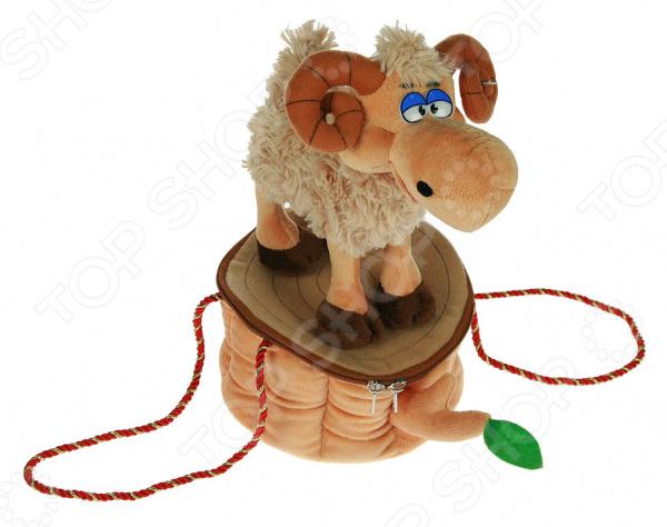 Мягкая игрушка-сумочка «Овечка» 80220