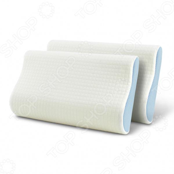 Комплект из 2х подушек анатомической формы Dormeo «Сиена»