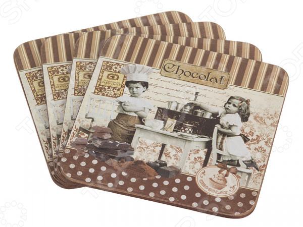 Набор подставок под горячее Lefard «Шоколад»