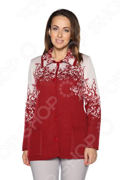 Жакет Milana Style «Хрустальная роса». Цвет: красный жакет milana style хрустальная роса цвет джинсовый