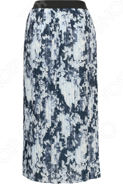 Юбка Finn Flare B17-11043. Цвет: темно-синий