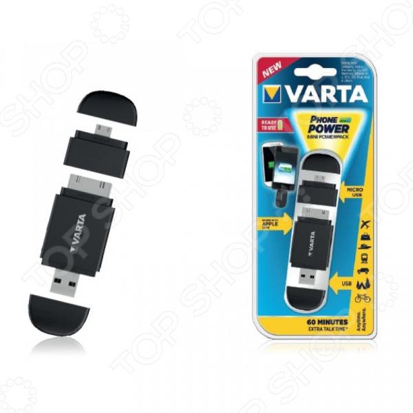 Аккумулятор внешний для IPhone 4/4S VARTA Mini Powerpack Аккумулятор внешний для IPhone 4/4S VARTA Mini Powerpack (чер) /Черный