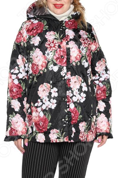 Куртка Лауме-Лайн «Цветочное настроение». Цвкт: черный костюм лауме лайн прикосновение души цвет черный