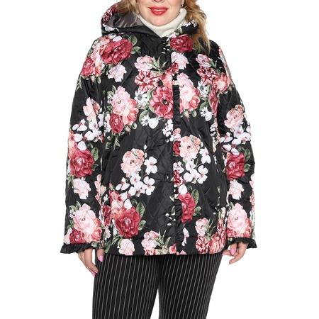 Купить Куртка Лауме-Лайн «Цветочное настроение». Цвет: черный