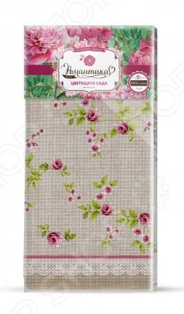 Полотенце вафельное Романтика «Английский сад» полотенце вафельное 50 70 романтика розовый ноктюрн