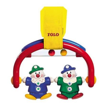 Купить Погремушка на кроватку Tolo Toys «Клоуны»
