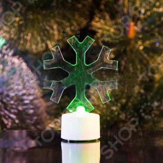 Фигура светодиодная на подставке Neon-Night «Снежинка»