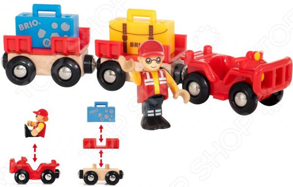 Игровой набор Brio «АвтоКар» набор brio автокар красный 33893