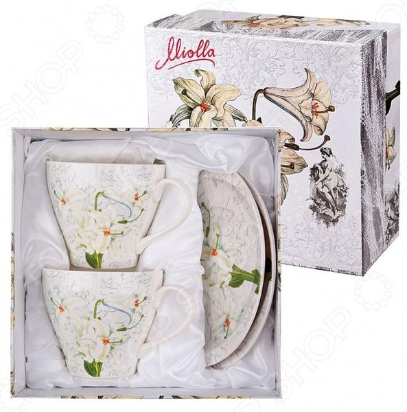 Чайная пара Miolla «Лилия»