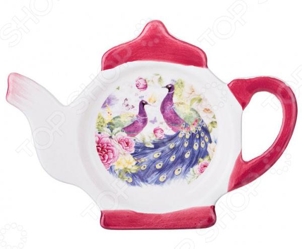 Подставка под чайные пакетики Agness «Павлины» 358-1063