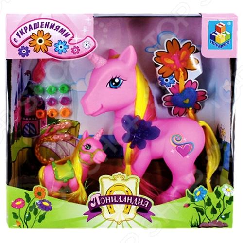 Набор 1 Toy «Единороги» мозаика по номерам сказочные единороги