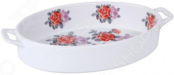 Форма для выпечки керамическая овальная Pomi d'Oro