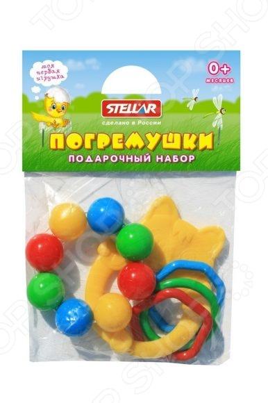 Набор игрушек-погремушек Стеллар «Подарочный набор №6» сортеры стеллар куб подарочный