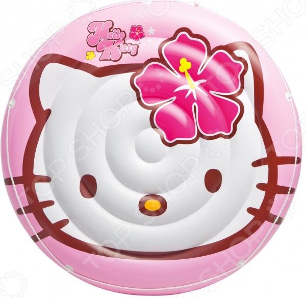 Матрас надувной водный Intex «Островок» Hello Kitty игрушка для плавания intex плот остров hello kitty 56513
