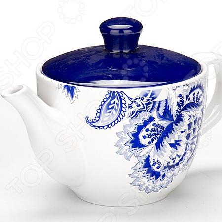 Чайник заварочный Loraine LR-24824 чайник заварочный loraine lr 23768 0 7л белый с рисунком ромашки
