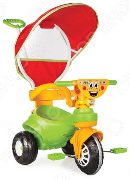 Велосипед трехколесный PILSAN Happy велосипед для малыша pilsan 7116plsn rainbow
