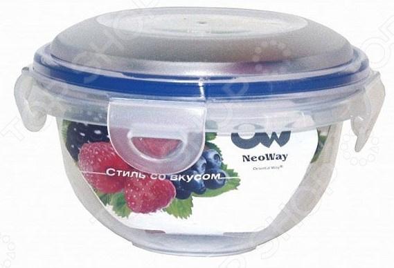 Контейнер для продуктов круглый горшковидный Oriental Way