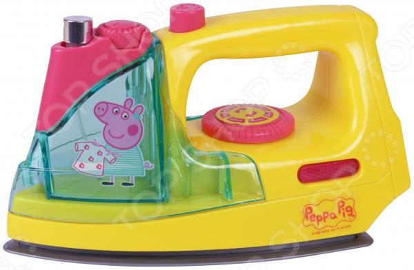 Утюг игрушечный Peppa Pig с пульверизатором, светом и звуком