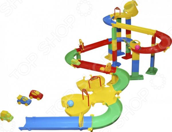 Игровой комплекс Wader «Горка для шариков» No.4 Игровой комплекс Wader «Горка для шариков» No.4 /
