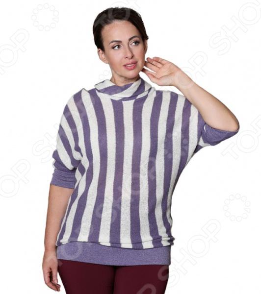 Блуза VEAS «Сияние». Цвет: фиолетовый