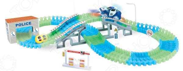 Фото - Трек гоночный 1 Toy «Полиция» авто