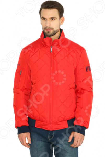 Куртка Finn Flare B17-42003. Цвет: алый