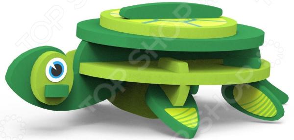 Игрушка сборная мягкая Magneticus «Животные: Черепаха»