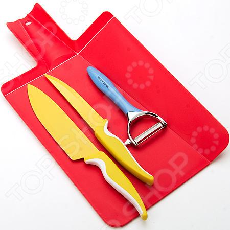 Набор: ножи и разделочная доска Mayer&Boch 24094-24097. В ассортименте ножи для кухни лучшие
