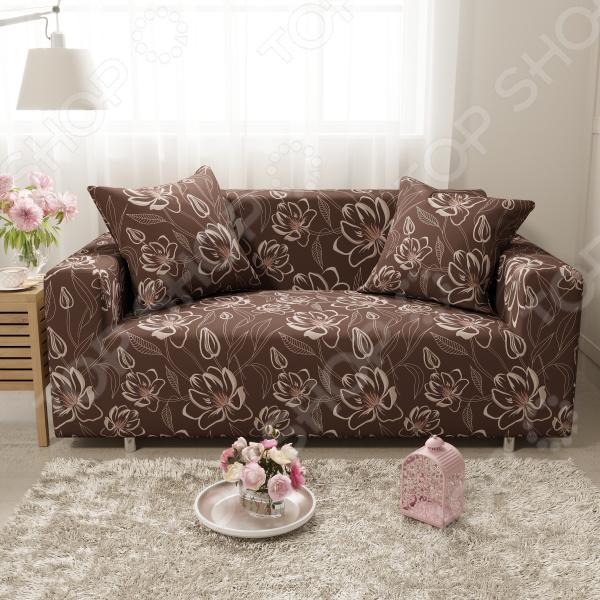 Чехол на двухместный диван «Мокко». Размер: 145х180 см