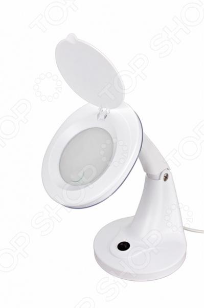 Лупа настольная с подсветкой Rexant 31-0245 цена и фото