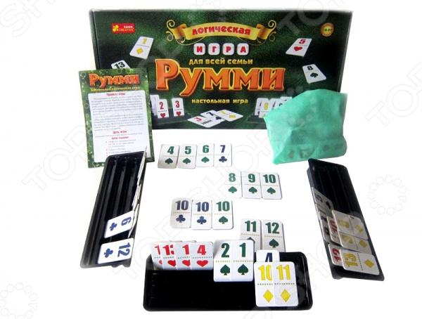 Игра настольная для компании Ранок «Румми» настольная игра ranok creative румми 12120028р